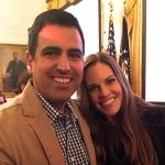Gil Garcia & Hillary Swank